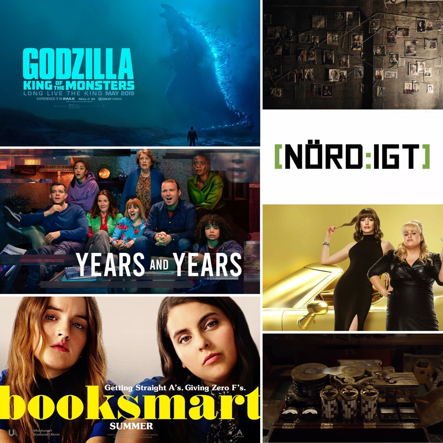 264. Den med Dark S2, Booksmart, Years and Years, The Hustle och Godzilla 2: King of the Monsters