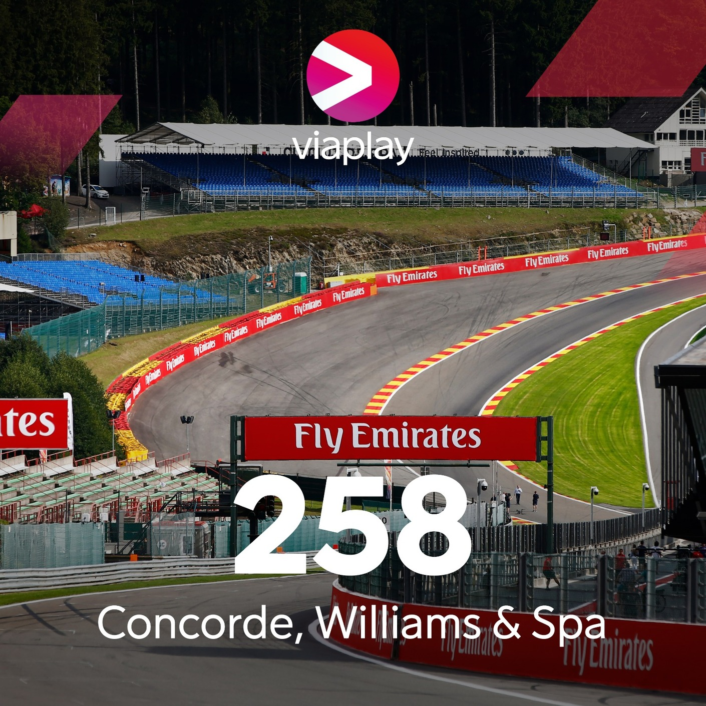 258. Concorde, Williams och Spa