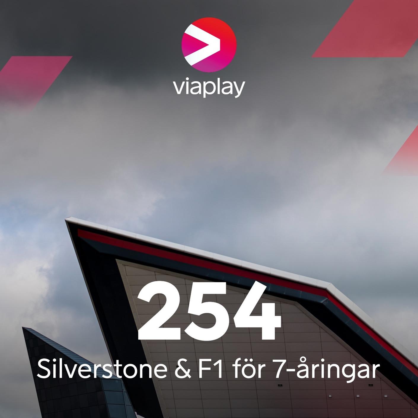 254. Silverstone & F1 för 7-åringar