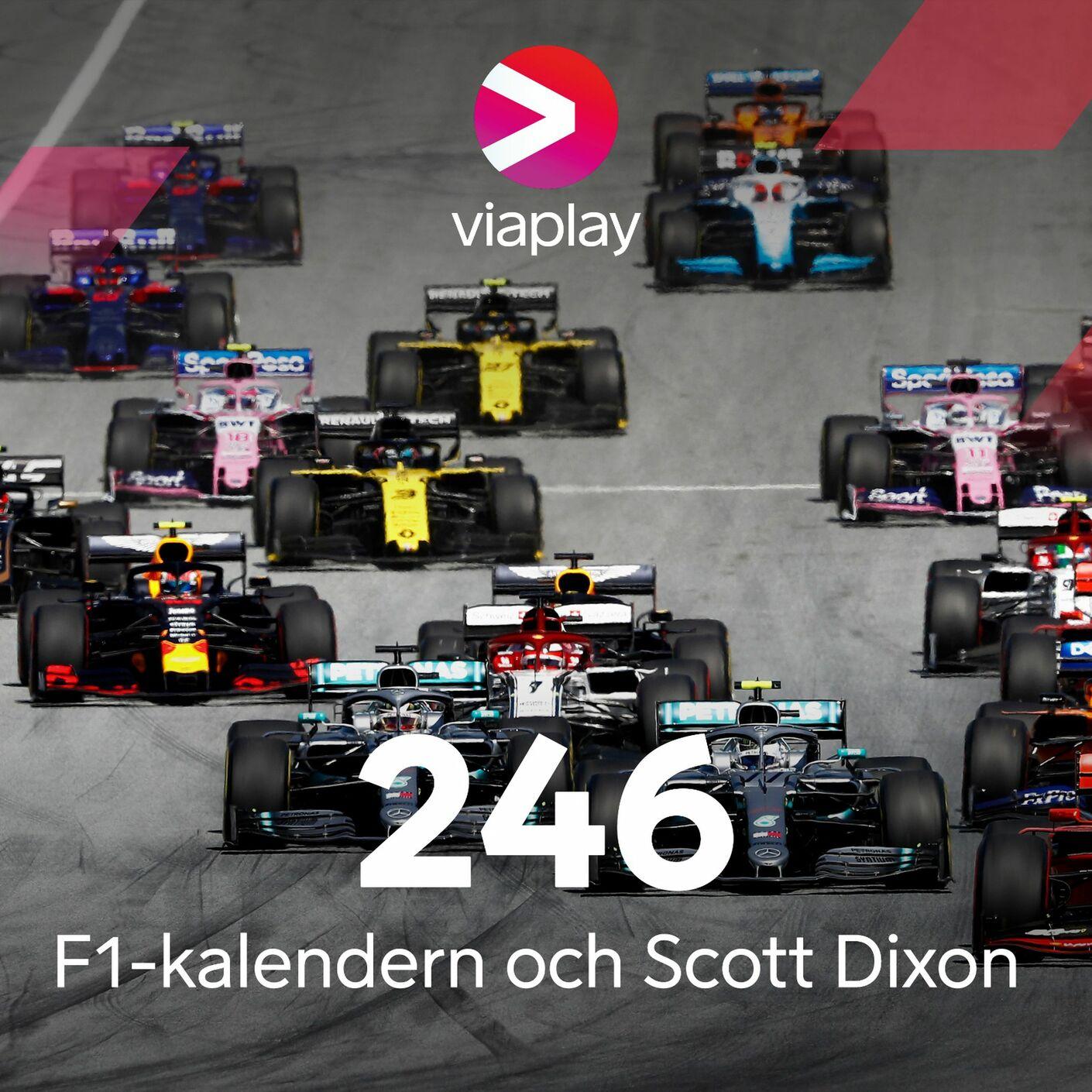 246. F1-kalendern och Scott Dixon