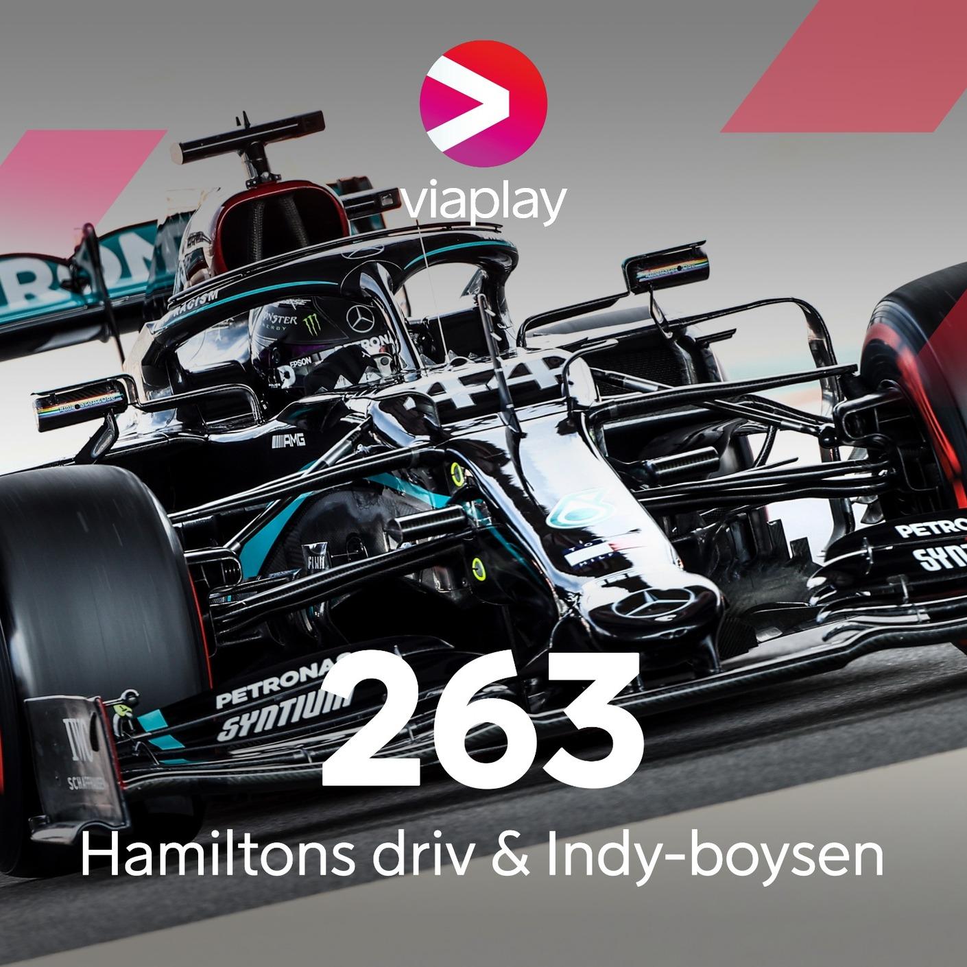 263. Hamiltons driv & Indy-boysen