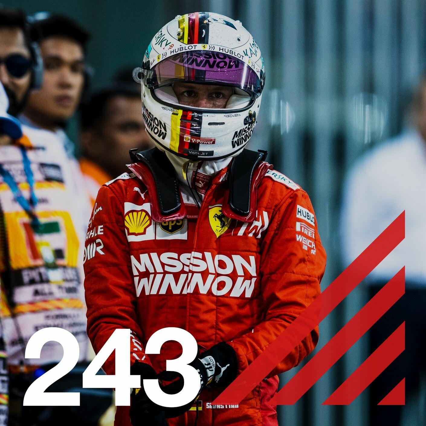 243. Vettel lämnar Ferrari